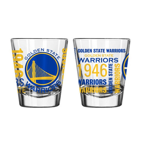Golden State Warriors 2oz. Spirit Shot Glass