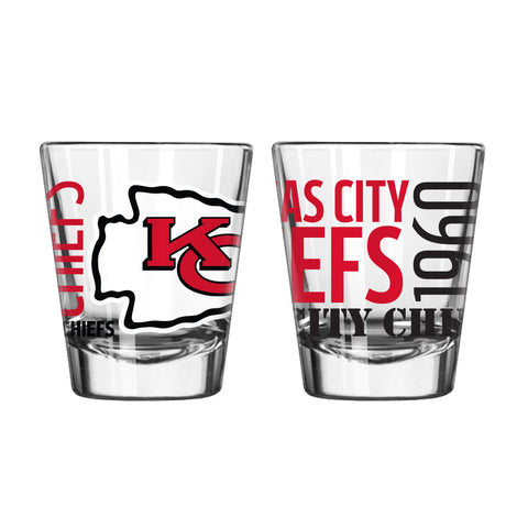 Kansas City Chiefs 2oz. Spirit Shot Glass