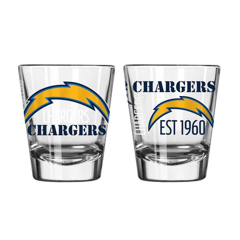 Los Angeles Chargers 2oz. Spirit Shot Glass
