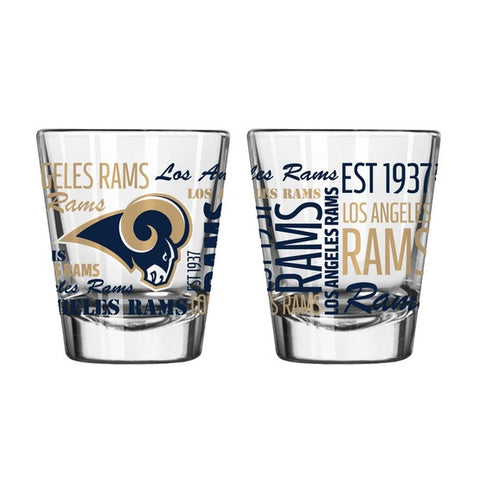 Los Angeles Rams 2oz. Spirit Shot Glass