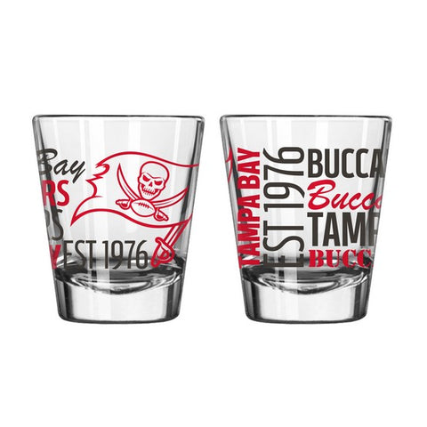 Tampa Bay Buccaneers 2oz. Spirit Shot Glass