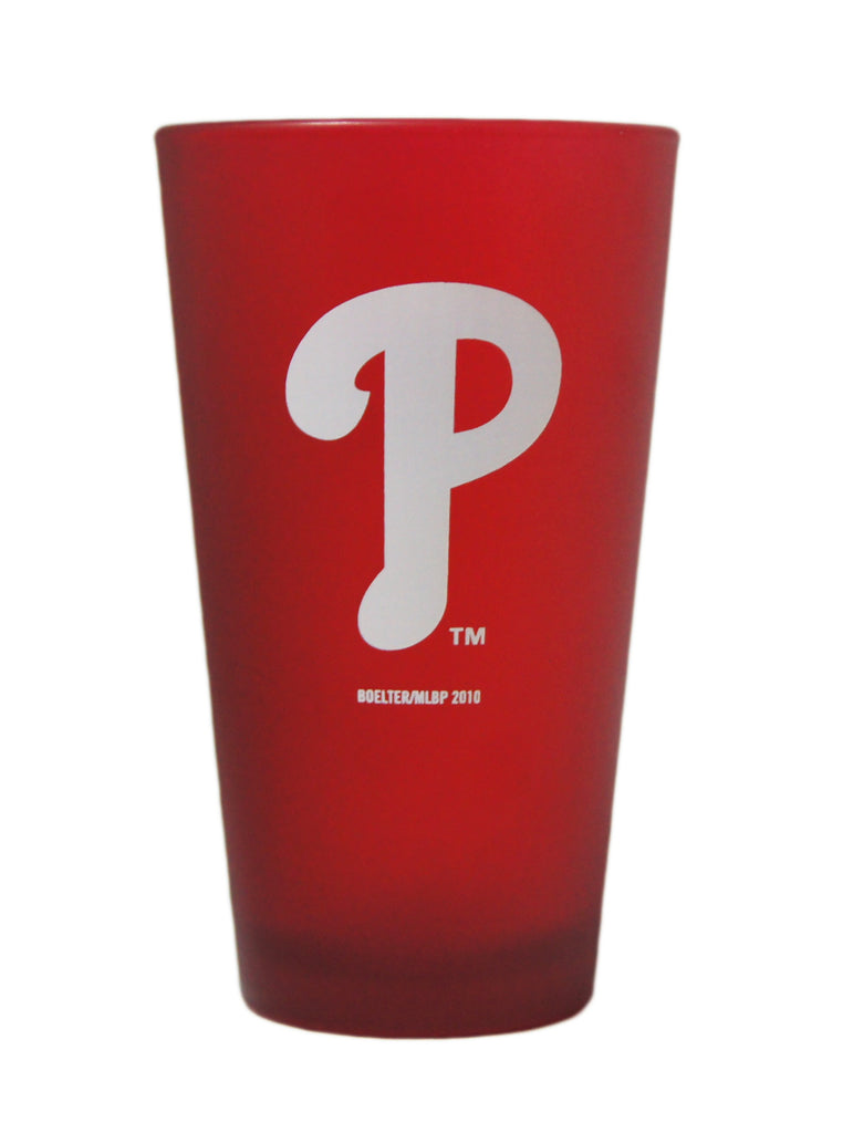 Philadelphia Phillies Color Frosted Pint Glass