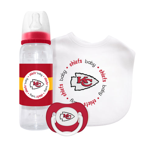 Kansas City Chiefs Baby Gift Set
