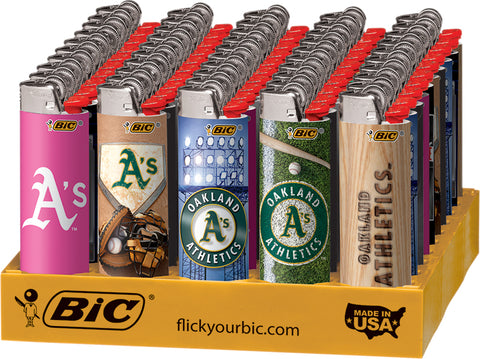 Oakland Athletics Bic Lighter