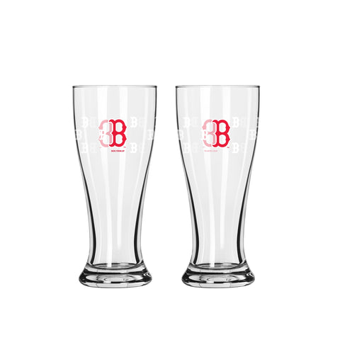 Boston Red Sox Team Color Mini Pilsner Shot Glass