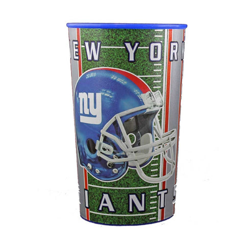 New York Giants 22oz. Plastic Cup