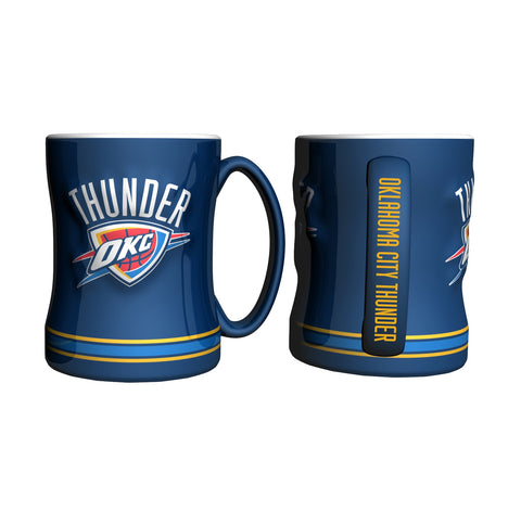 Oklahoma City Thunder Relief Mug