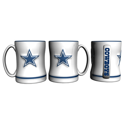 Dallas Cowboys Retro Relief Mug