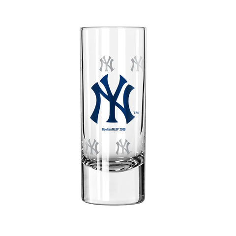 New York Yankees 2.5oz. Satin Etch Shooter Glass