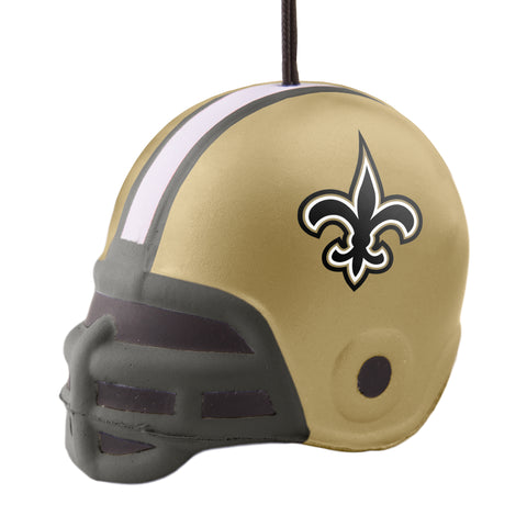 New Orleans Saints Squish Helmet Ornament