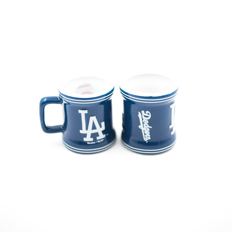 Los Angeles Dodgers Stripe Mini Mug Shot Glass