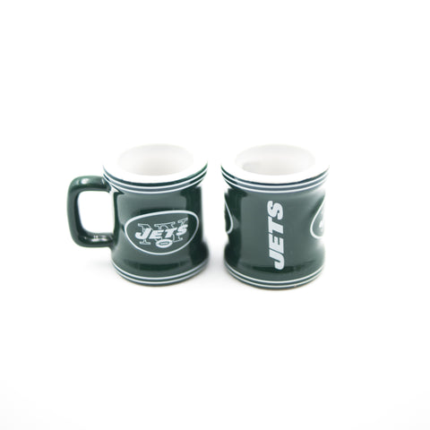 New York Jets Stripe Mini Mug Shot Glass