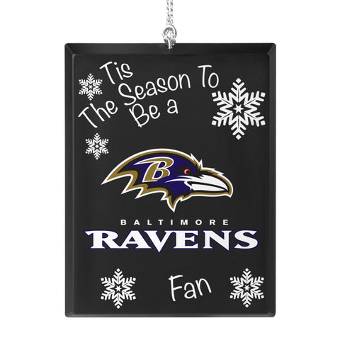 Baltimore Ravens 'Tis the Season Ornament