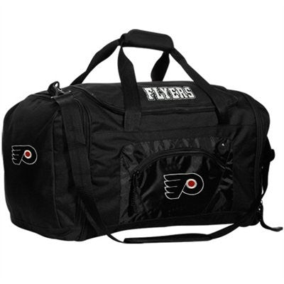 Philadelphia Flyers Black Roadblock Duffel Bag