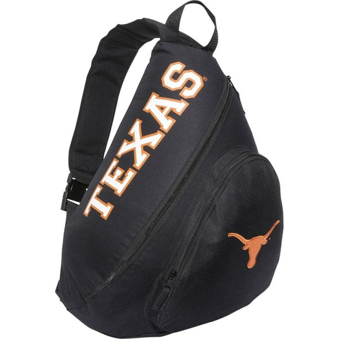 Texas Longhorns Sling Backpack - Black