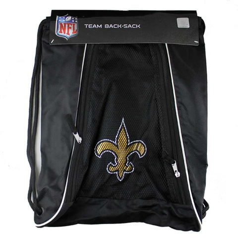 New Orleans Saints Slip Drawstring Bag