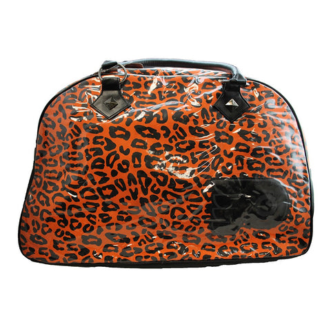 Philadelphia Flyers Leopard Print Safari Duffel Bag
