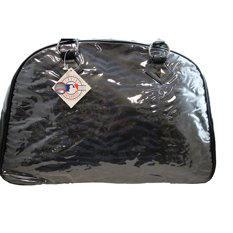 New York Yankees Zebra Print Safari Duffel Bag