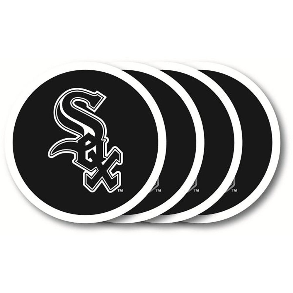 Chicago White Sox 4 Pack Vinyl Coasters