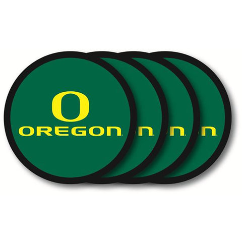 Oregon Ducks 4 Pack Vinyl Coasters