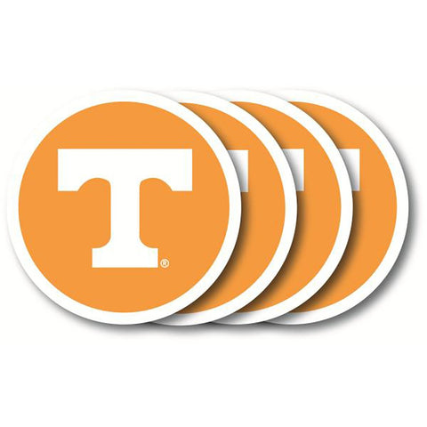 Tennessee Volunteers 4 Pack Vinyl Coasters