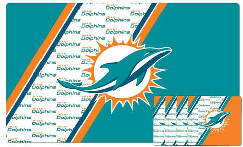 Miami Dolphins Placemat & Coaster Set