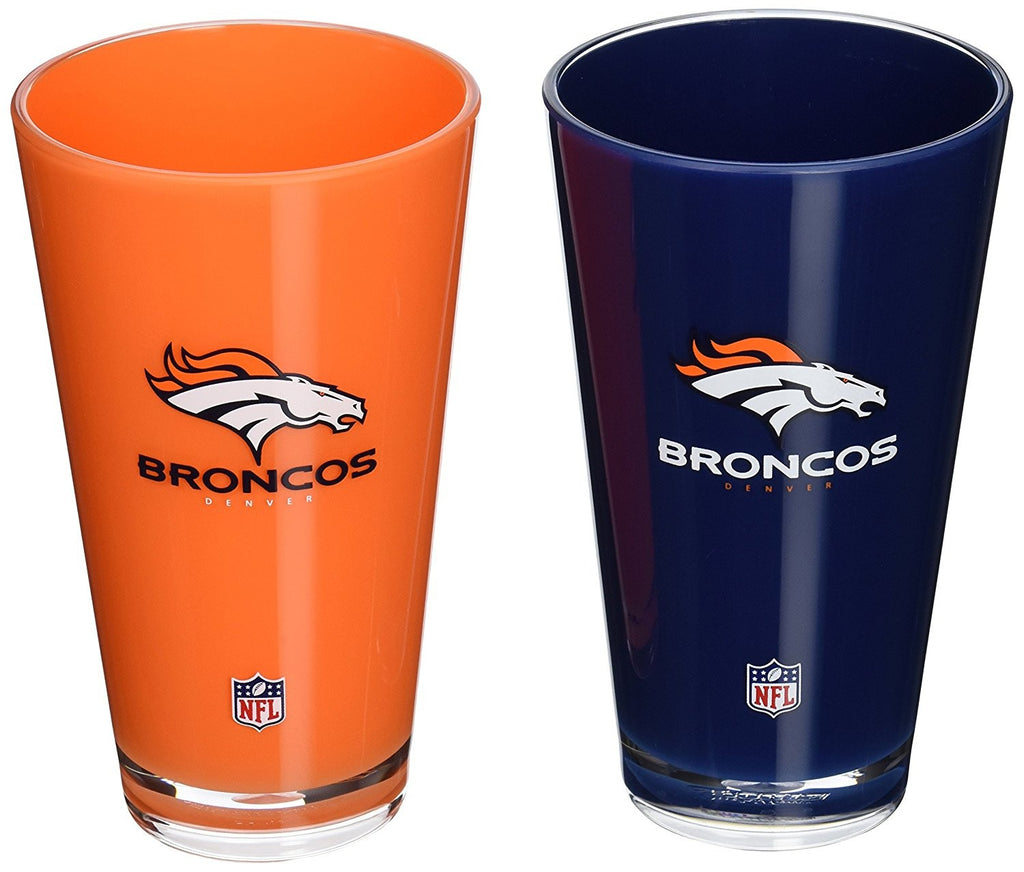 Denver Broncos 2 Pack Insulated Tumbler Set