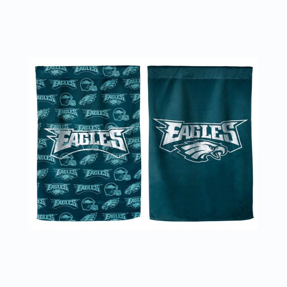 Philadelphia Eagles Double Sided Glitter House Flag