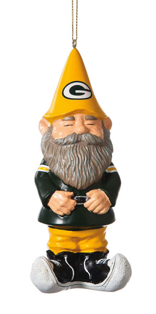 Green Bay Packers Gnome Ornament