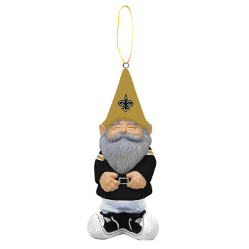 New Orleans Saints Gnome Ornament