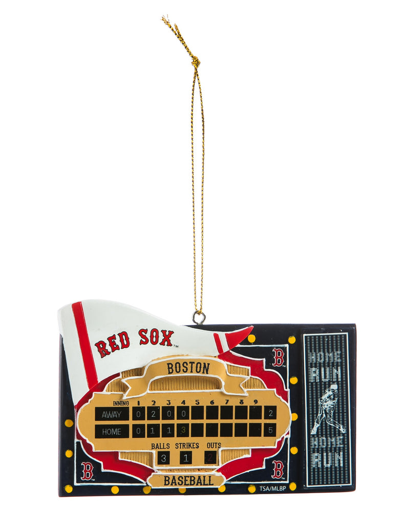 Boston Red Sox Scoreboard Ornament