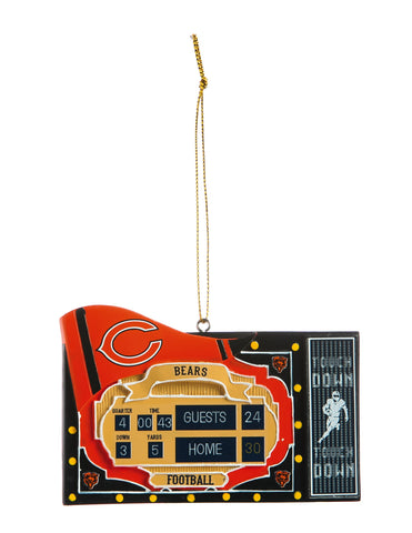 Chicago Bears Scoreboard Ornament