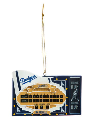 Los Angeles Dodgers Scoreboard Ornament