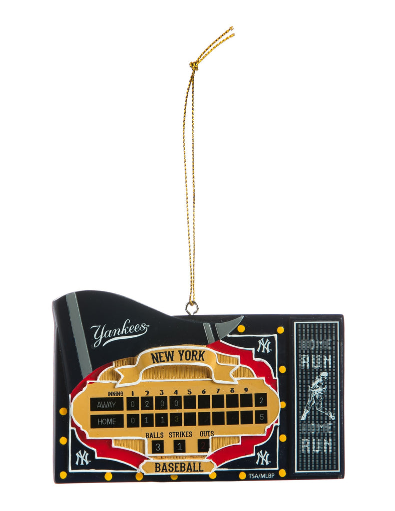 New York Yankees Scoreboard Ornament