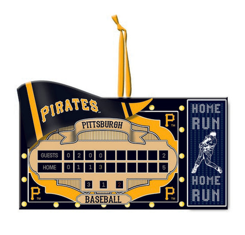 Pittsburgh Pirates Scoreboard Ornament
