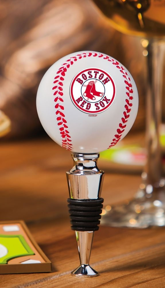 Boston Red Sox Wine Bottle Stopper