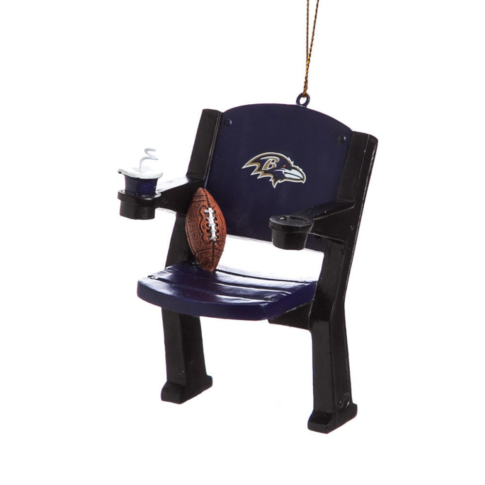 Baltimore Ravens Stadium Chair Ornament