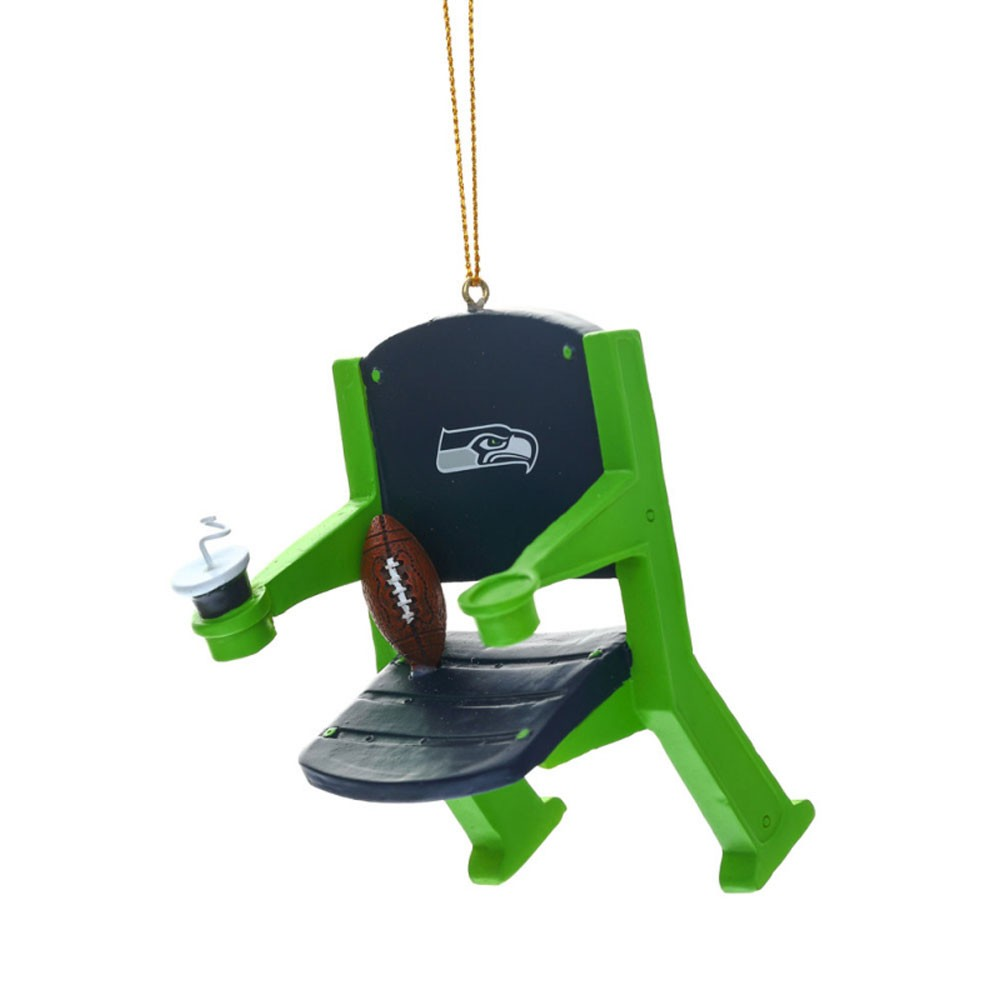 Seattle Seahawks Stadium Chair Ornament