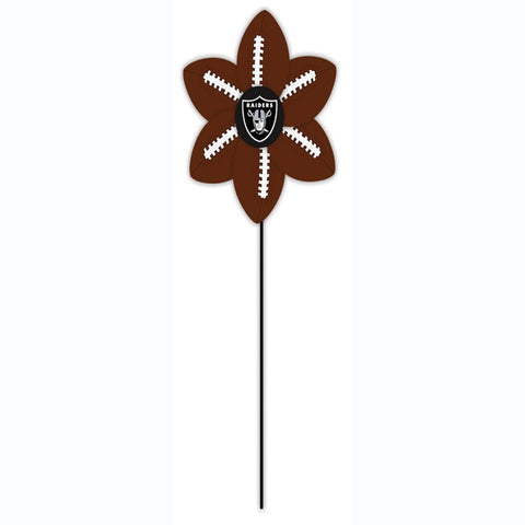 Oakland Raiders Team Ball Wind Spinner