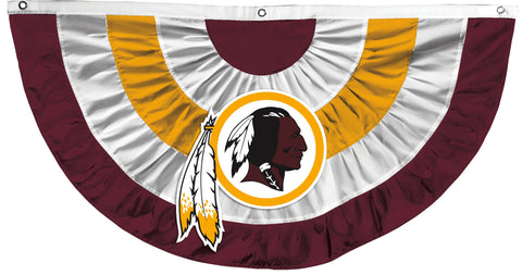 Washington Redskins Team Bunting Flag