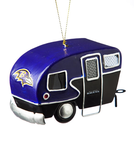 Baltimore Ravens Team Camper Ornament