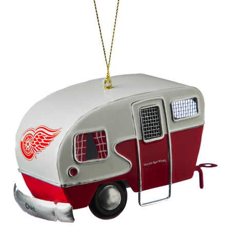 Detroit Red Wings Team Camper Ornament