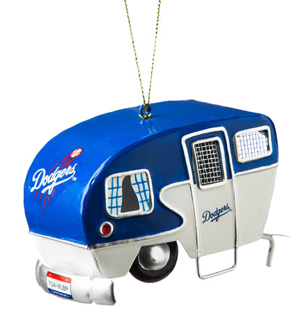 Los Angeles Dodgers Team Camper Ornament