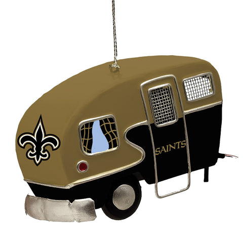 New Orleans Saints Team Camper Ornament