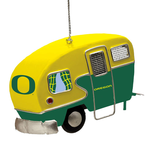 Oregon Ducks Team Camper Ornament