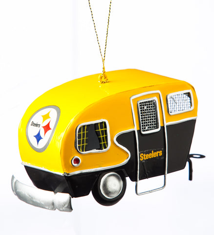Pittsburgh Steelers Team Camper Ornament