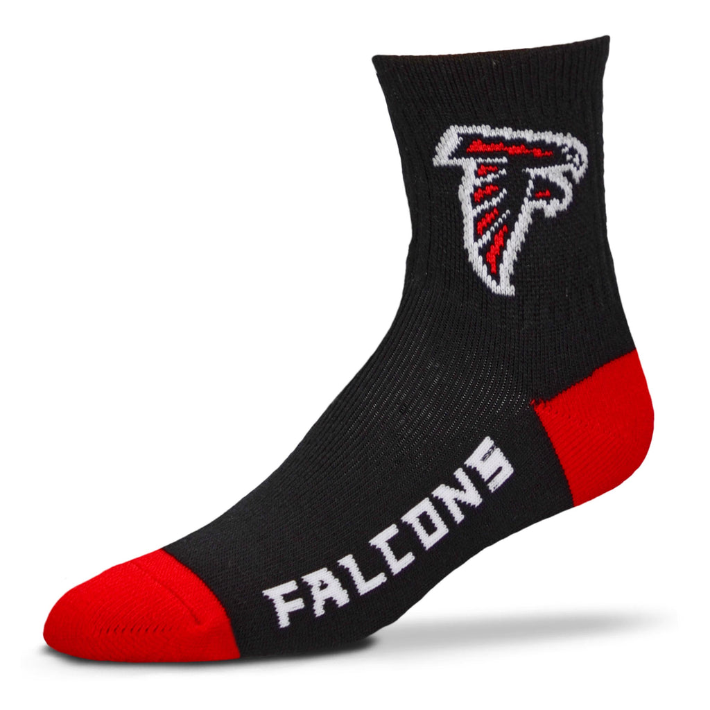 Atlanta Falcons Team Color Crew Socks