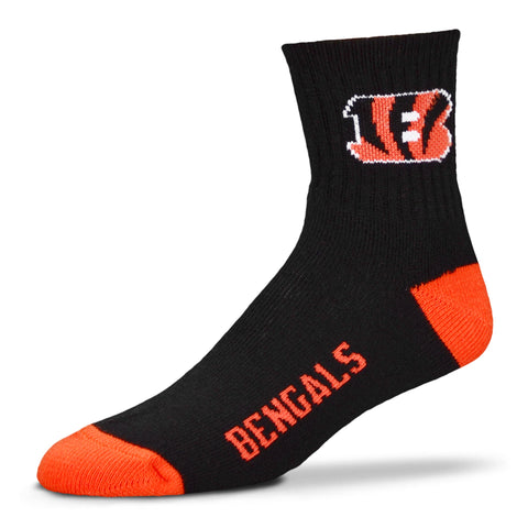 Cincinnati Bengals Team Color Crew Socks