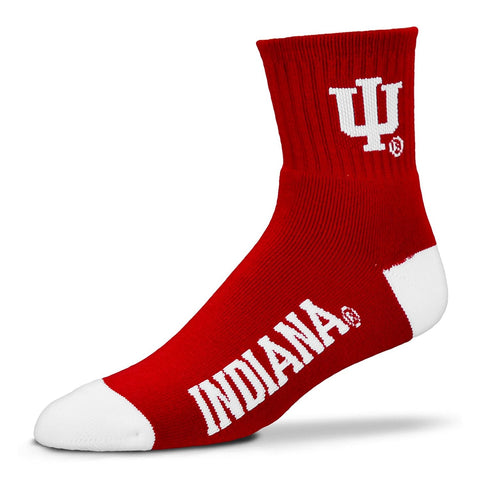 Indiana Hoosiers Team Color Crew Socks
