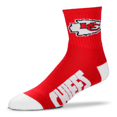 Kansas City Chiefs Team Color Crew Socks